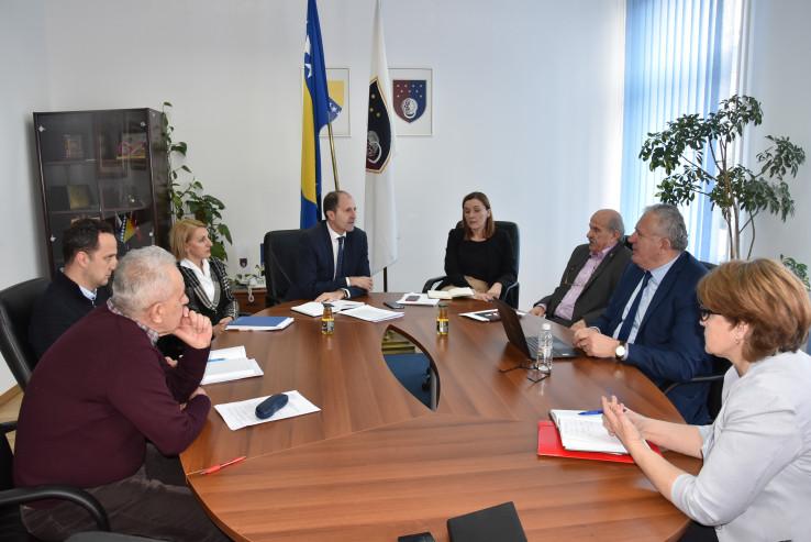 Sastanak predstavnika Vlade KS i ESV-a