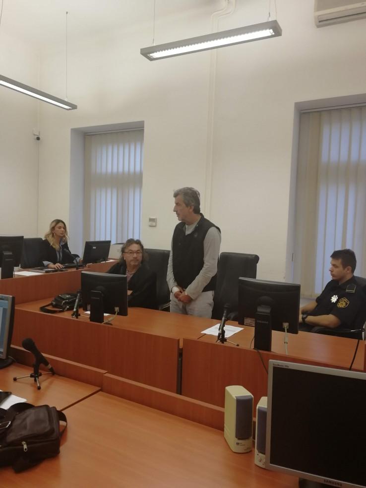 Senad Basarić u pritvoru