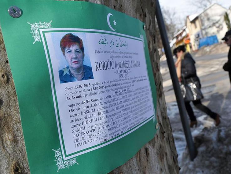 Jasmina Koričić preminula na licu mjesta