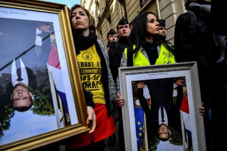 Protesti protiv Makrona