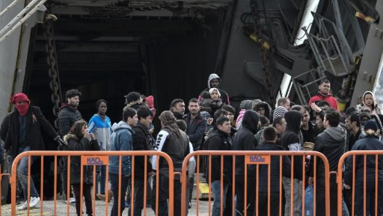Migranti na granici Grčke i Turske