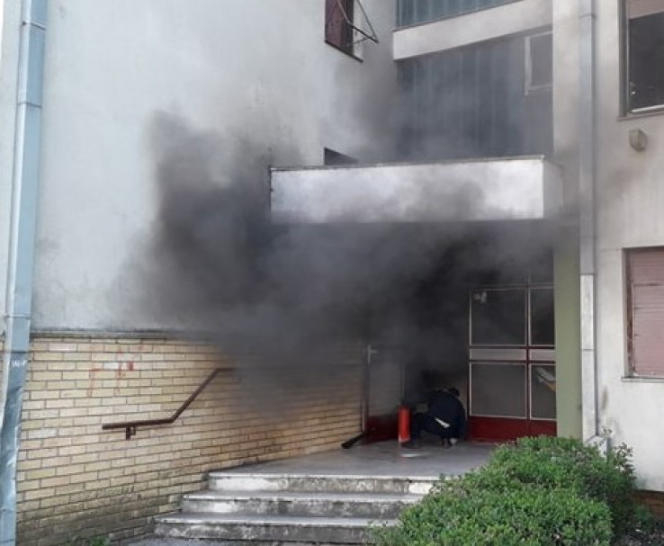 Požar ugasili vatrogasci
