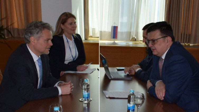 Satler i Tegeltija razgovarali u Sarajevu