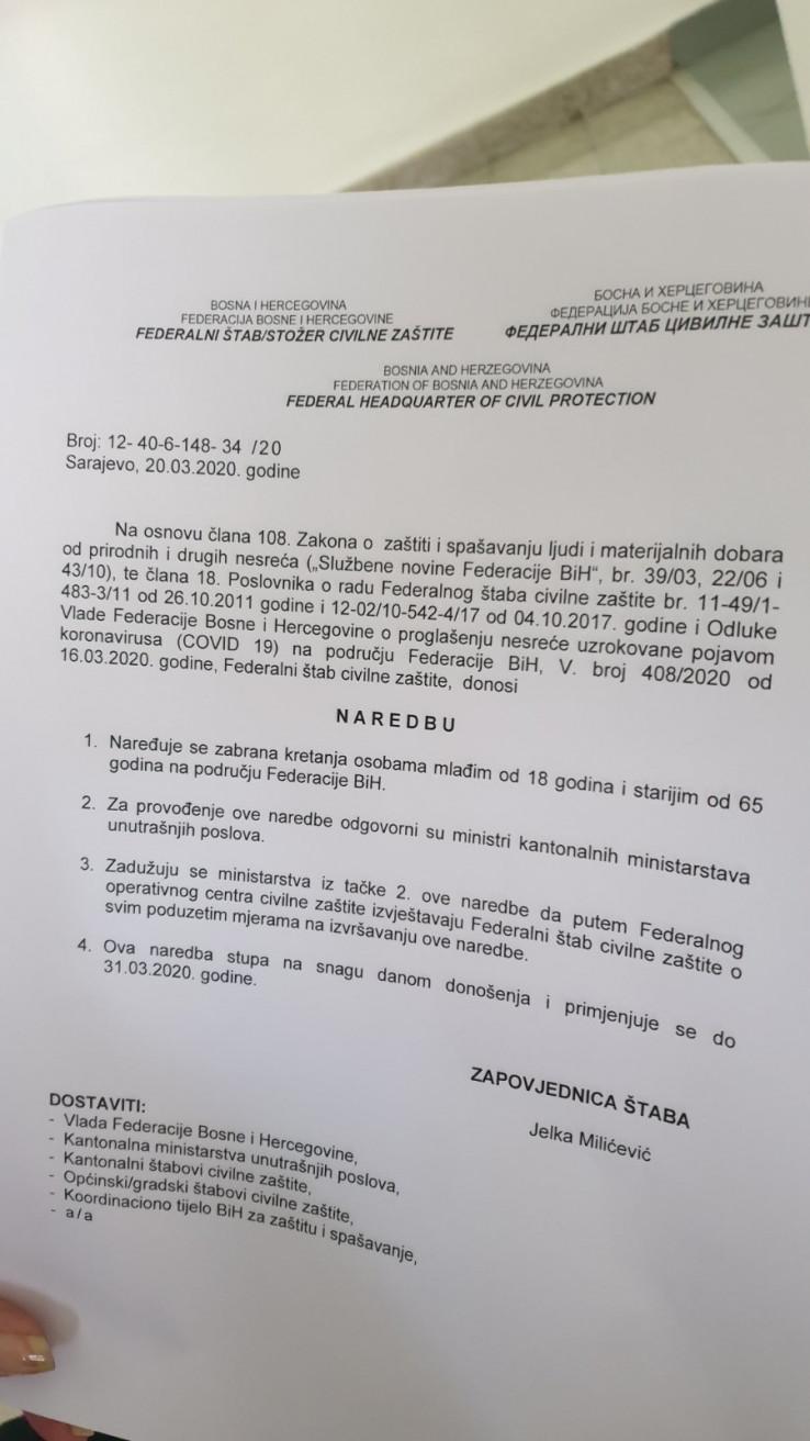 Faksimil naredbi - Avaz, Dnevni avaz, avaz.ba