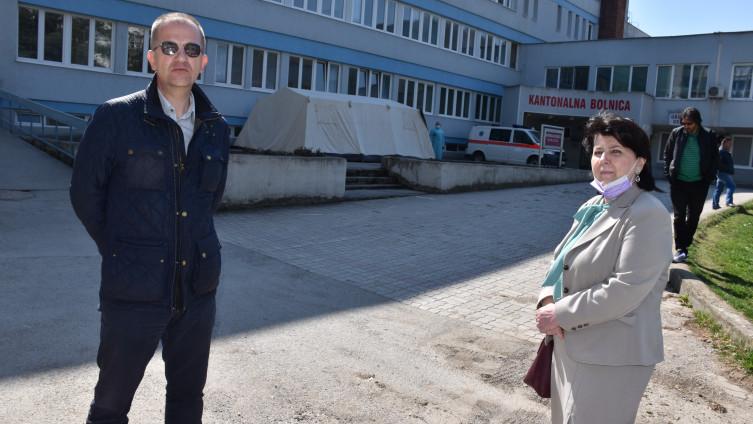 Dr. Balijagić i Kamenica: Za srednje teške oblike imamo izolatorije