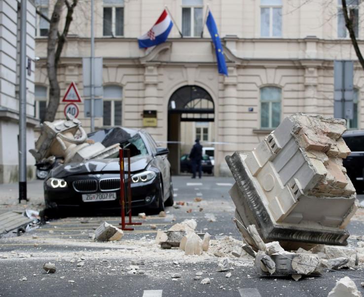 Posljedice zemljotresa u Zagrebu