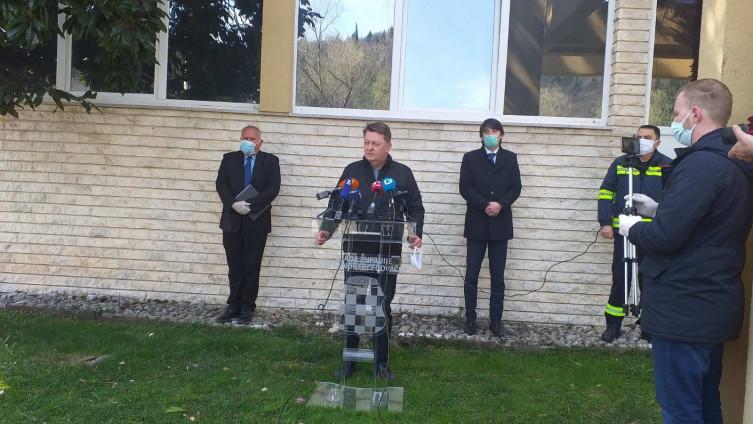 Pres-konferencija Štaba civilne zaštitet ZHK