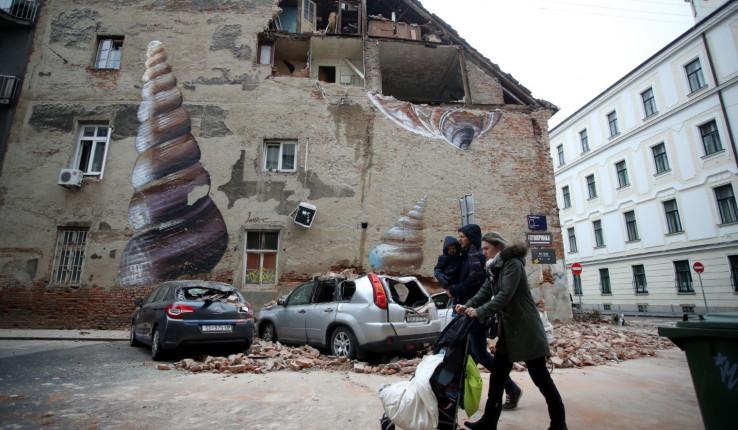 Potres u Zagrebu: Pričinjena velika materijalna šteta