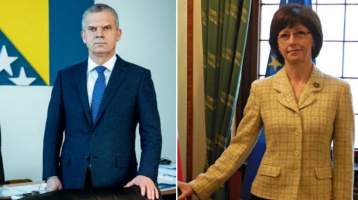 Ministar Radončić razgovarao s ambasadoricom Hlavsovom