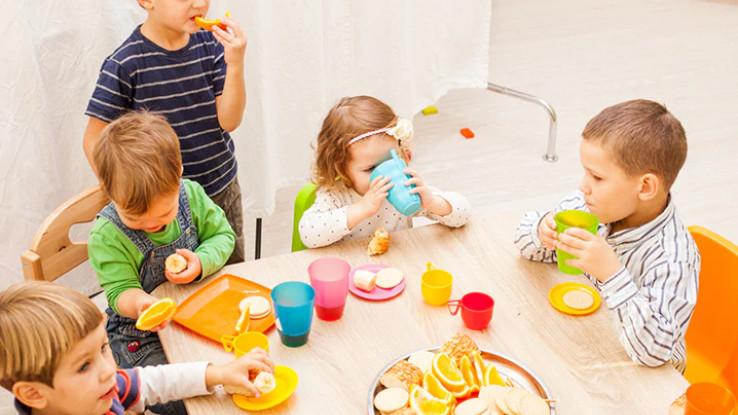 Mališanima je potrebna zdrava hrana