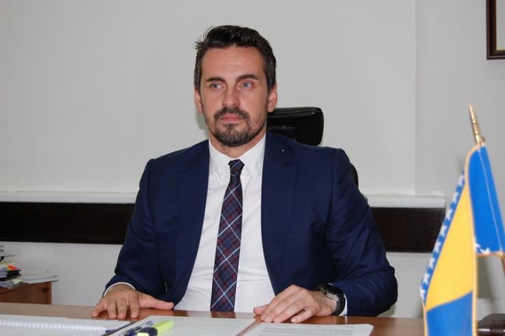 """Direktor kompanije """"BH-Gas"""" Jasmin Salkić"""