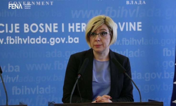 Ministrica okoliša i turizma Edita Đapo