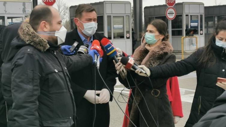 Ministar komunikacija i prometa Bosne i Hercegovine Vojin Mitrović obišao je danas i granični prijelaz Rača
