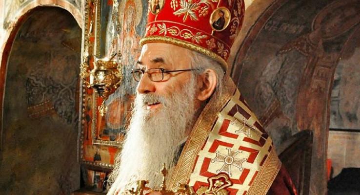 Zaražen episkop valjevski Milutin