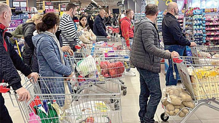 Panična kupovina neće doprinijeti raspoloženju