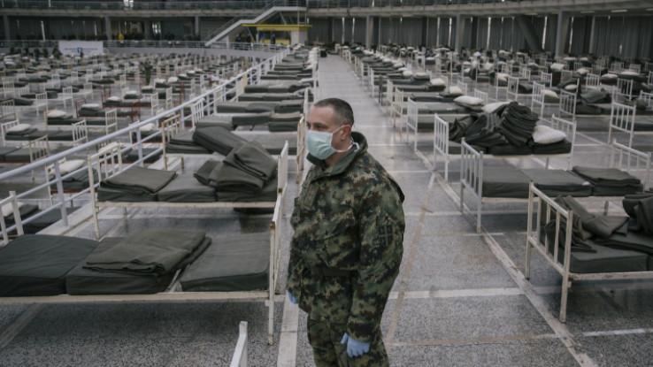 Vojska Srbije dopremila krevete