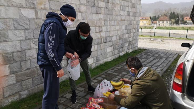 Volonteri dostavili pomoć