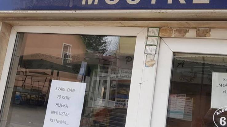 Natpis na pekari u Donjem Moštru - Avaz, Dnevni avaz, avaz.ba