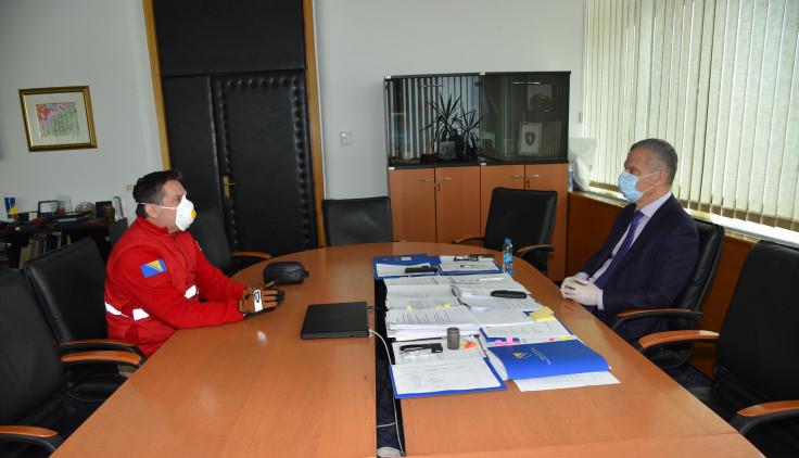Sa sastanka Lazića i Radončića - Avaz, Dnevni avaz, avaz.ba