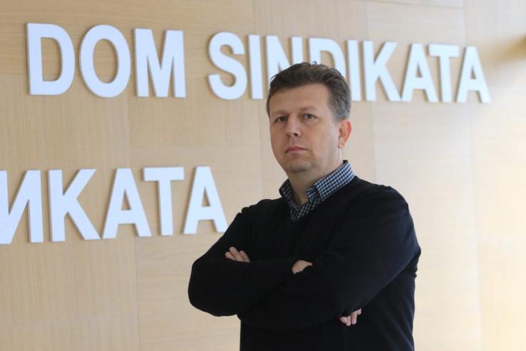 Predsjednik Saveza samostalnih sindikata BiH Selvedin Šatorović
