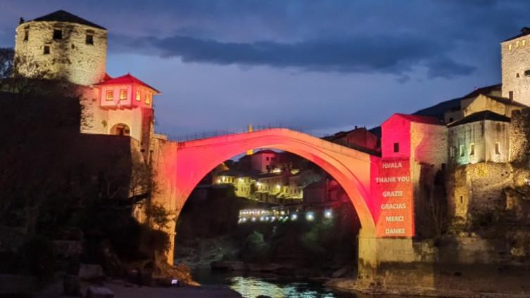 Stari most večeras