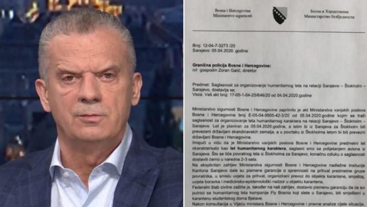 Ministarstvo sigurnosti, na čelu s Radončićem, poslalo dopis