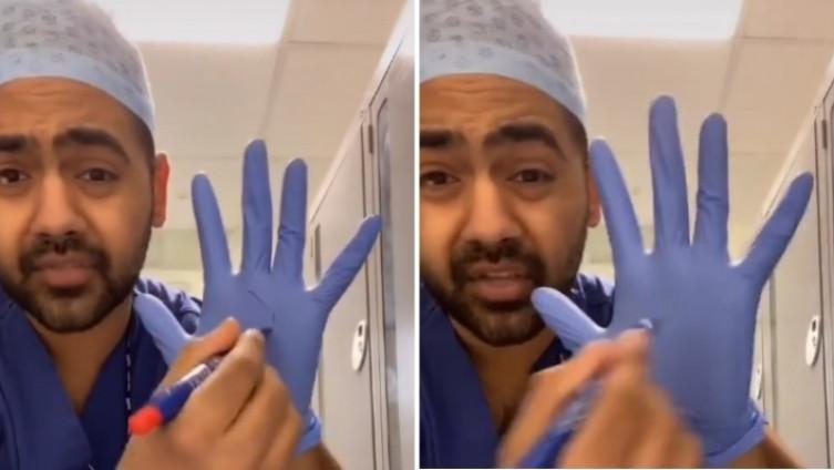 Karan Rangarajan koji radi kao hirurg u britanskoj Nacionalnoj zdravstvenoj službi