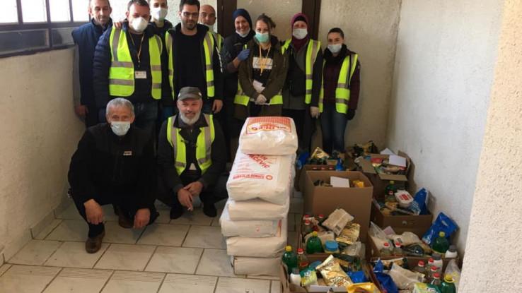 Učesnici humanitarne akcije