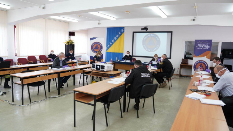 Nova sjednica Štaba civilne zaštite FBiH