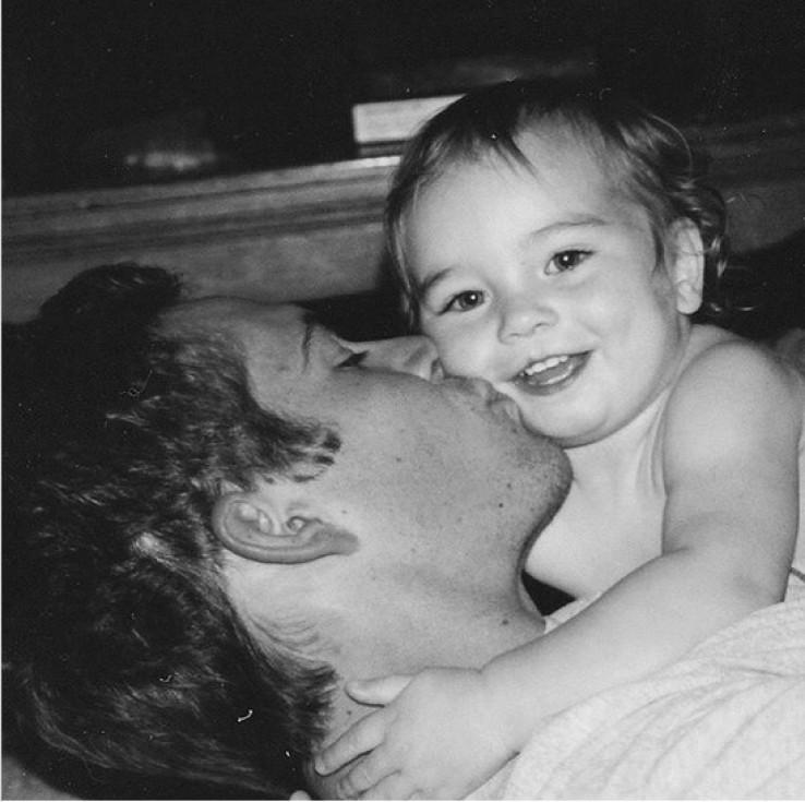 Medou na Instagramu često objavljuje fotografije s ocem