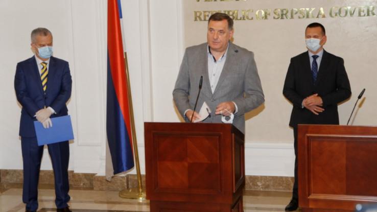 Dodik: Slažem se s gospodinom Radončićem da sve političke teme ostavimo za vrijeme nakon krize