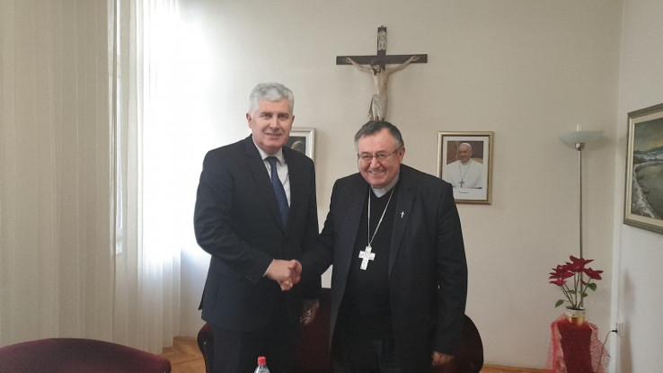 Čović uputio čestitku kardinalu Puljiću i svim vjernicima