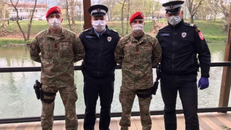 Predrag Javorac, Dejan Nović, Milan Marić i Njegoš Popović
