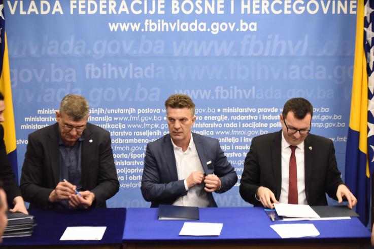 S potpisivanja novog Kolektivnog ugovora s rudarima