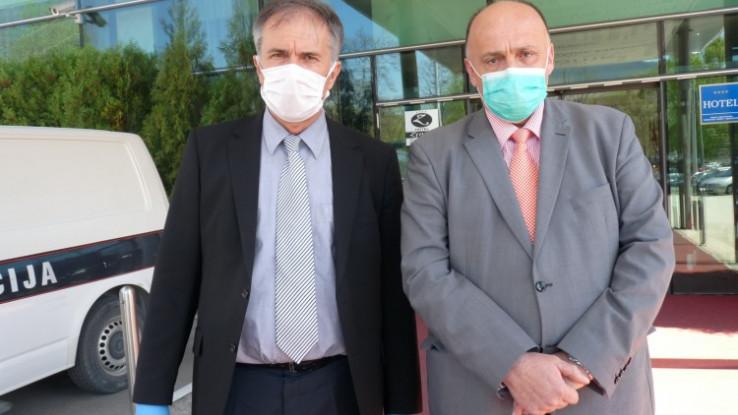 Drljević i Jupić: ZDK ima kapacitete za karantinski smještaj 130-140 ljudi