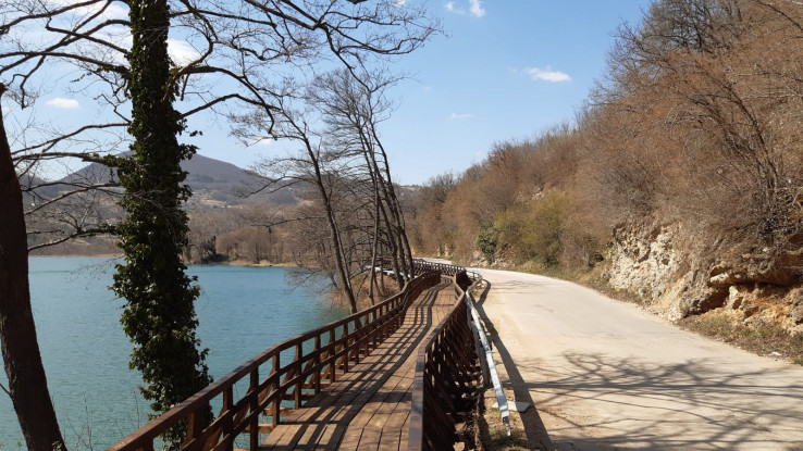 Radovi na Malom Plivskom jezeru