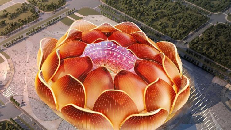 Stadion će biti izgrađen u obliku cvijeta lotosa