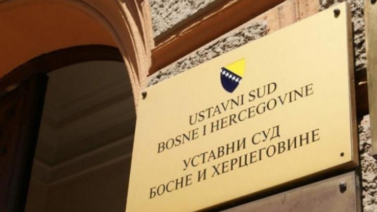 Ustavni sud BiH: Danas odluka