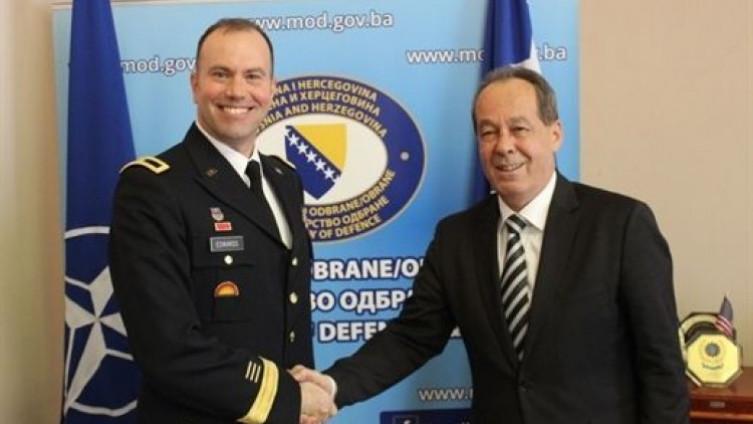 General Edvards obećao je svaku moguću pomoć u aktivnostima MO i OSBiH koje proizilaze iz Programa reformi