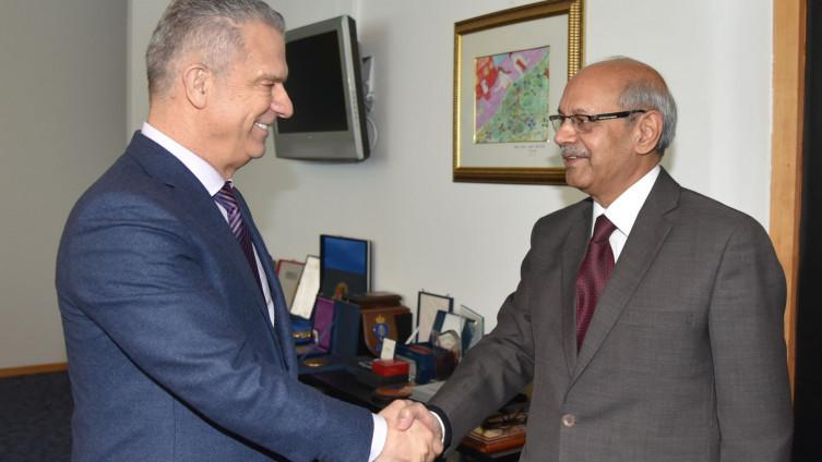 Ministar Radončić primio ambasadora Muhameda Halida Raoa