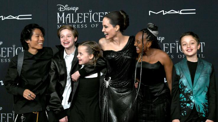 Džoli sa djecom: Oni su moj centar