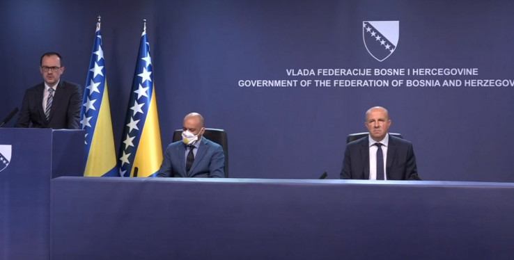 Pres-konferencija Federalnog štaba civilne zaštite