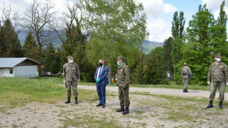 Okolića je o stanju i aktivnostima koje se provode, upoznao pukovnik Sead Šehić