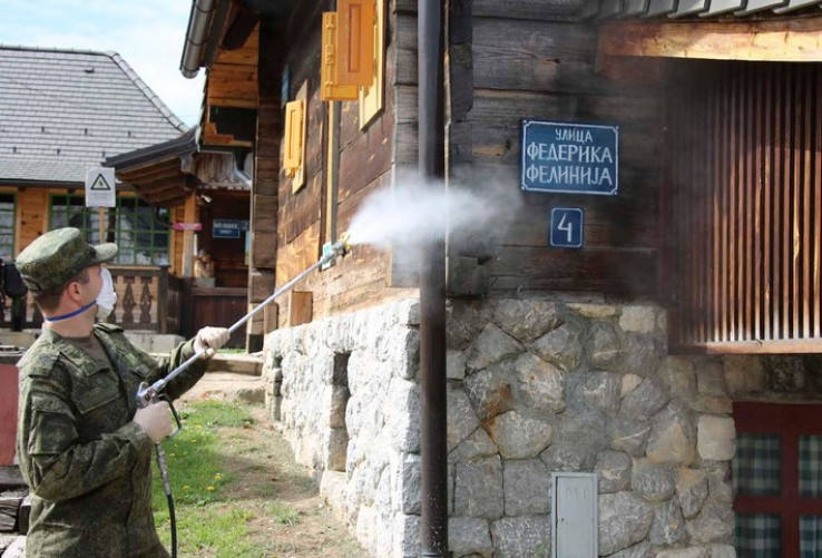 Dezinficiran Drvengrad Emira Kusturice