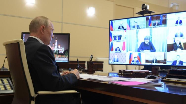 Putin: Više od 10.000 zaraženih u jednom danu