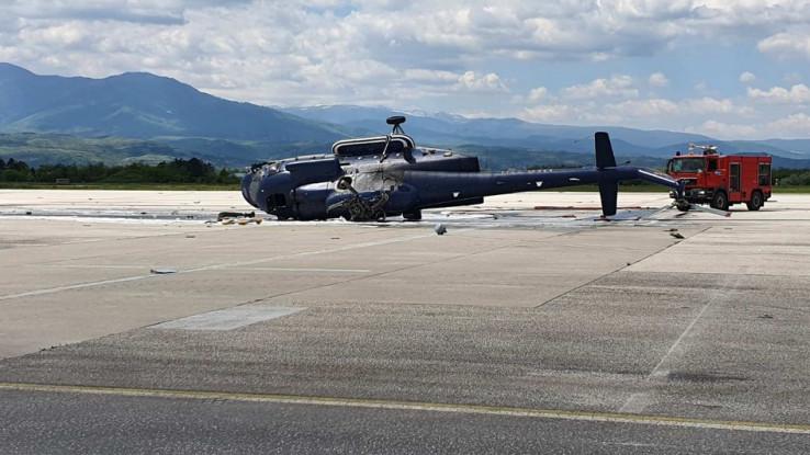 Policijski helikopter tipa MI-17 prevnuo se u 11:30 sati