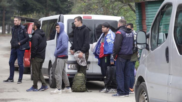 Migrant boravio u kampu Ušivak