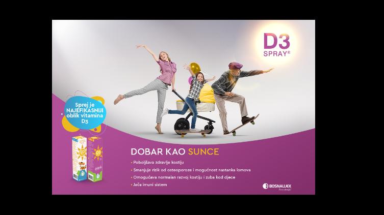 Uzimate li dnevnu dozu vitamina D od kojeg zavisi zdravlje vaših pluća?