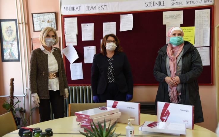 Ulrike Hartmann dočekale gradonačelnica Amra Babić i direktorica škole Azra Žolja