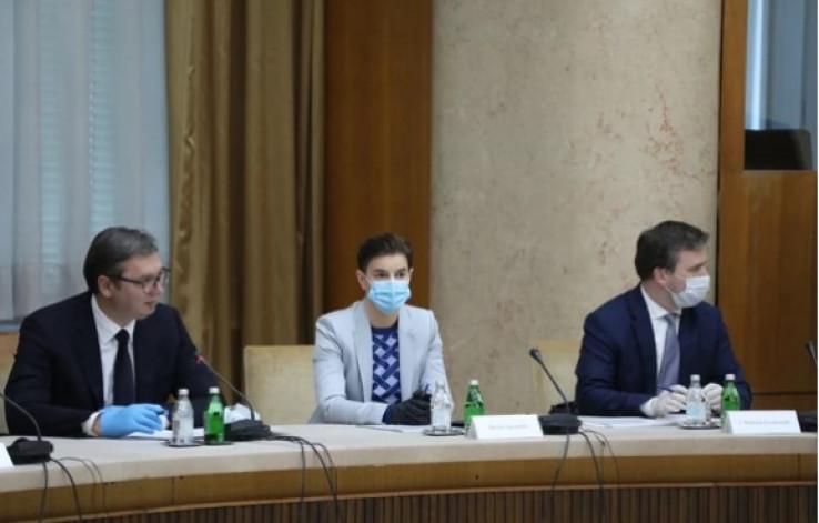 Sastanak s prestavnicima političkih partija